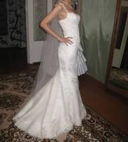 Продам элегантное свадебное платье