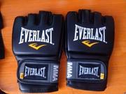 Перчатки MMA EverLasT + Бинты фирменные