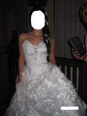 красивое свадебное платье. недорого