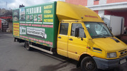 Грузовой фургон ИвекоТурбоДейли 4912 с длинной базой или меняю на бус