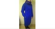 Демисезонное пальто 44 р-р,  шарф в подарок