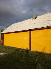 Покраска всех типов деревянных домов в Барановичах.